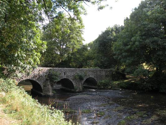 Au détour d'un sentier, un pont sur l'Ernée !