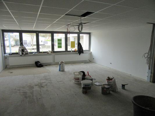 Renovierung Lehrerzimmer