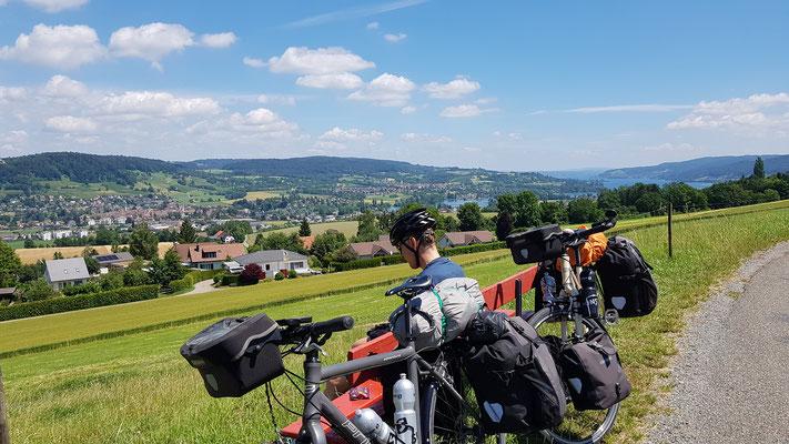 Bodensee in Sichtweite