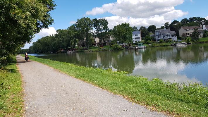 Am Erie-Canal entlang