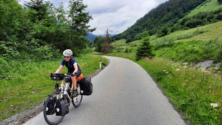 Nebenstrasse zum Arlbergpass