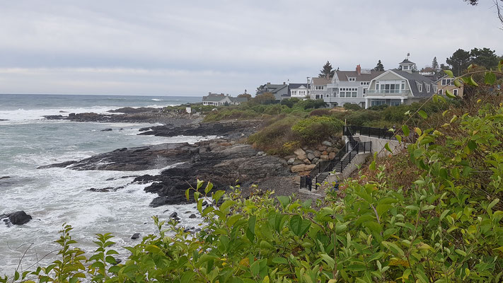 Küstenweg in Ogunquit, Maine