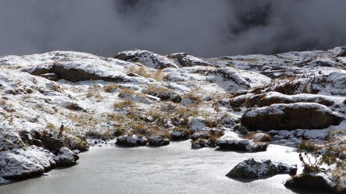 2016: Early winter in Graubünden, Switzerland