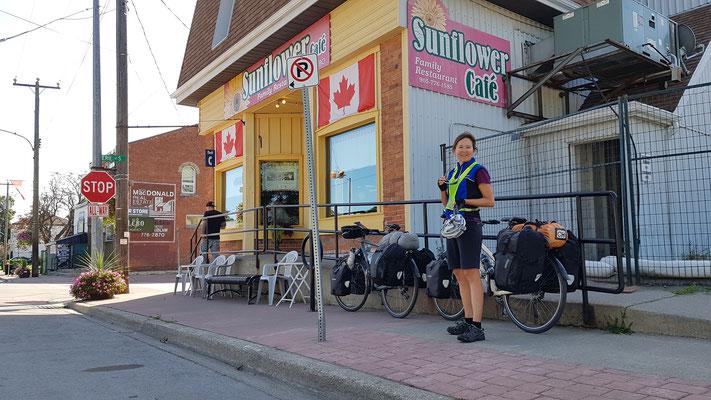Morgenessen in Selkirk, Ontario
