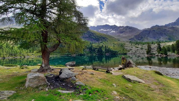 Wanderung im wunderschönen Val di Campo