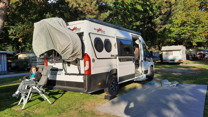 TCS Camping Sion; ein sehr schöner Platz