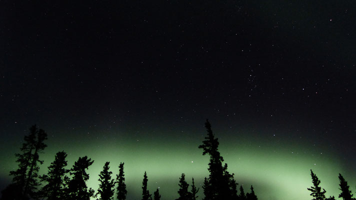 2015: Northern lights in Yukon, Canada