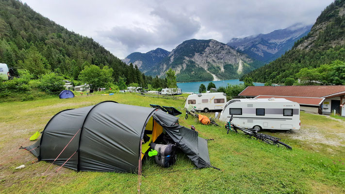 Campingplatz Seespitze, Plansee