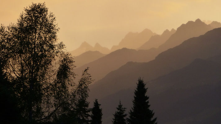 2017: View from our balcony in Valata/Obersaxen, Switzerland