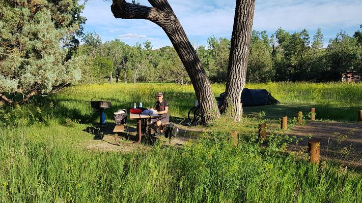 Cottonwood Campground im Theodor Roosevelt N.P.