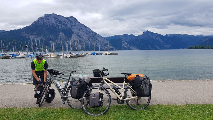 Pause am Traunsee