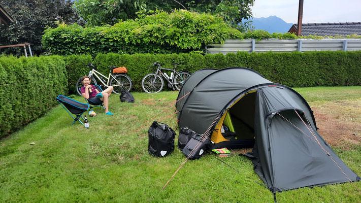 ein ganz toller und sympathischer Platz: Panorama Camping Sonnenberg in Nüziders