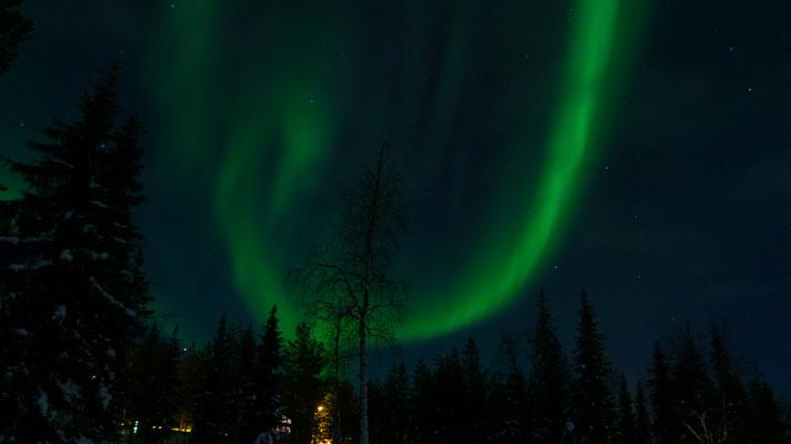2018: Northern Llghts in Lappland, Luosto (Finnland)