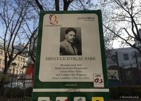 Hundezone Ernst-Lichtblau-Park, 1050 Wien