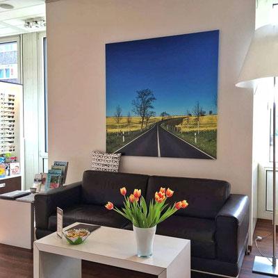 Eins meiner Bilder bei Wolff Optik Teltow, Dirk Pagels, Teltow