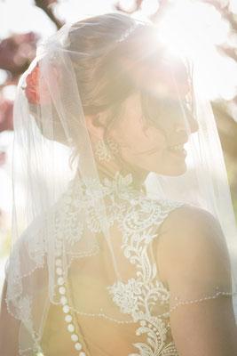 Hochzeits Shooting unter Kirschbäumen in Teltow, Foto: Dirk Pagels, Teltow