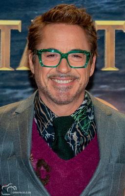 """Robert Downey Jr., bei der Filmpremiere von """"Die fantastische Reise des Dr. Doolittle"""", im Zoo Palast Berlin, Foto: Dirk Pagels"""