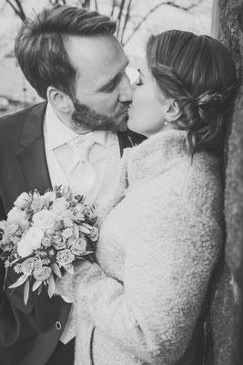 Hochzeit im Januar 2018, Teltow, Foto: Dirk Pagels