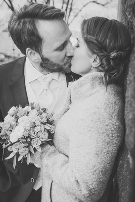 Hochzeit im Januar 2018, Teltow, Foto: Dirk Pagels, Teltow