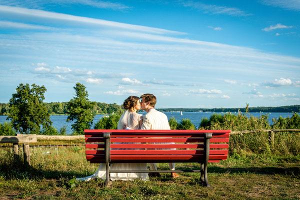 Hochzeit am Berliner Wannsee 2019, Foto: Dirk Pagels, Teltow
