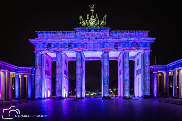 Brandenburger Tor, Festival of Lights 2016, Foto: Dirk Pagels, Teltow