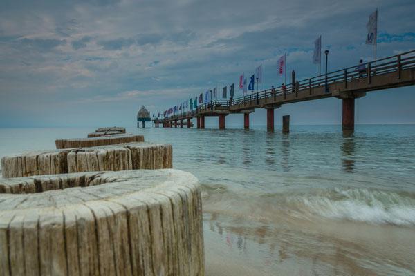 Seebrücke Zingst, Foto: Dirk Pagels