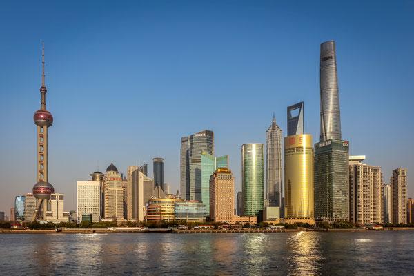 Skyline Shanghai, Foto: Dirk Pagels, Teltow