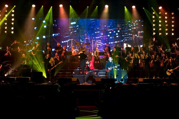 Ricky Warwick und Scott Gorham, Thin Lizzy, Rock meets Classic, Foto: Dirk Pagels, Teltow