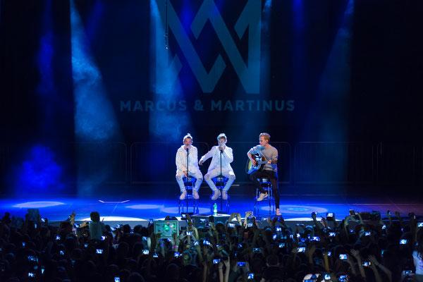 Marcus und Martinus in Huxleys Neue Welt Berlin, Foto: Dirk Pagels
