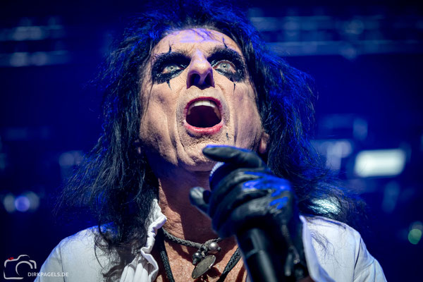 Alice Cooper, September 2019, Max-Schmeling-Halle Berlin, Foto: Dirk Pagels