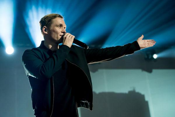 Matthias Schweighöfer in der Berliner Verti Music Hall, Foto: Dirk Pagels, Teltow