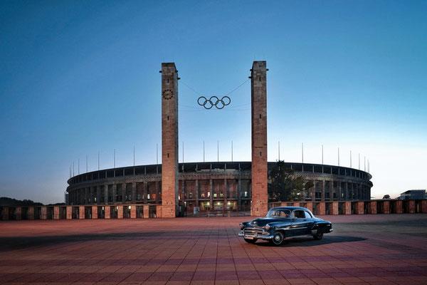 Shooting am Berliner Olympiastadion 2021, Foto: Dirk Pagels, Teltow