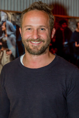 Maximilian Brückner, Schauspieler, Foto: Dirk Pagels, Teltow