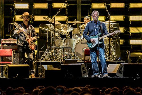 Eric Clapton, Mercedes Benz Arena 2019, Foto: Dirk Pagels