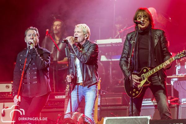 Die Rocklegenden am 05.01.2018 in der Mercedes Benz Arena, Foto: Dirk Pagels