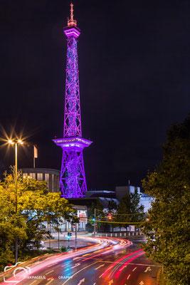 Berliner Funkturm, Festival of Lights 2016, Foto: Dirk Pagels, Teltow