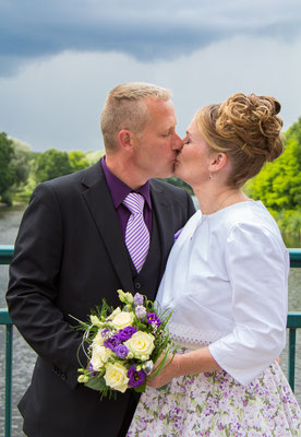 Hochzeit im Juni 2015, Teltow, Foto: Dirk Pagels