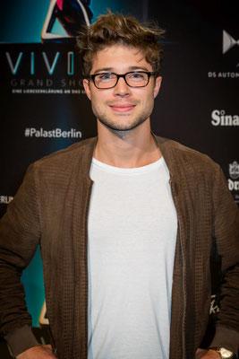 Jascha Rust bei der Premiere von VIVID Grand Show, Foto: Dirk Pagels, Teltow