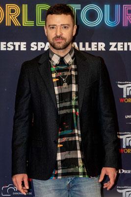 Justin Timberlake beim Pressecall von Trolls-World Tour, am 17.02.2020 im Waldorf Astoria Berlin, Foto: Dirk Pagels, Teltow