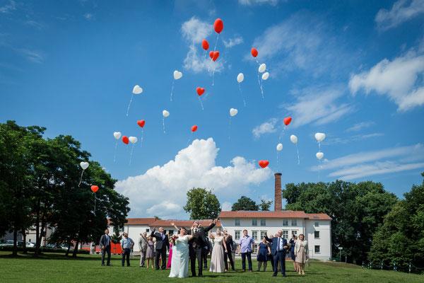 Hochzeit im Juli 2017, Großbeeren, Foto: Dirk Pagels