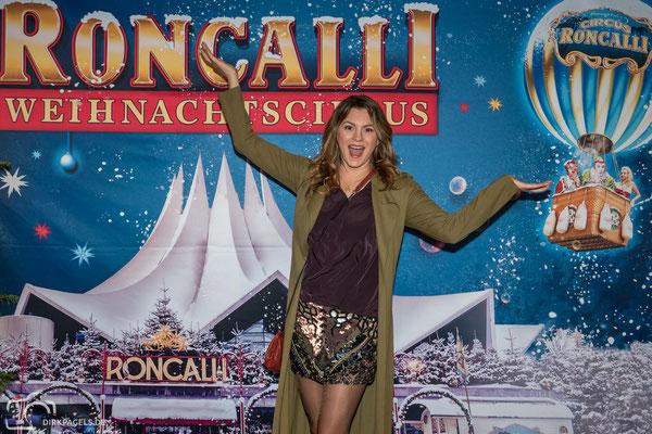 Luise Bähr bei der Premiere vom Roncalli Weihnachtscircus am 19.12.2019 im Berliner Tempodrom, Foto: Dirk Pagels, Teltow