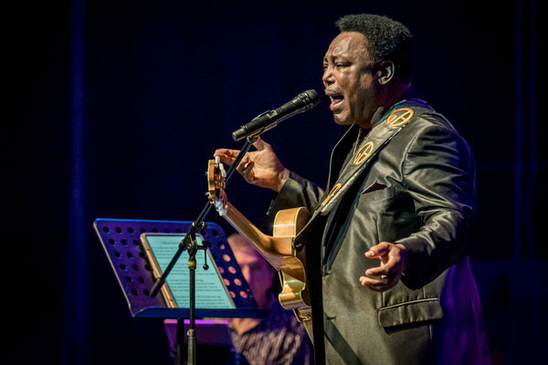 George Benson Juli 2019 in Berlin, Foto: Dirk Pagels
