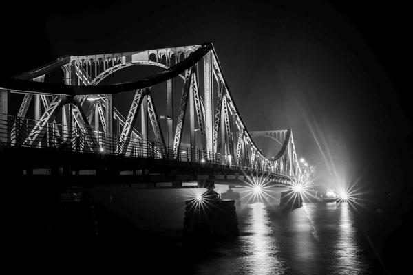 30 Jahre Mauerfall an der Glienicker Brücke in Potsdam, Foto: Dirk Pagels