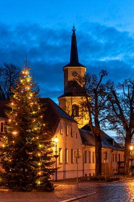 Weihnachtliche Stimmung in der Teltower Altstadt, Foto: Dirk Pagels, Teltow