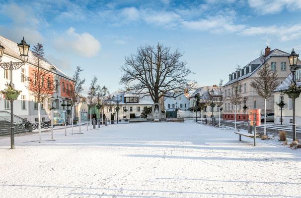 Marktplatz Teltow, Foto: Dirk Pagels