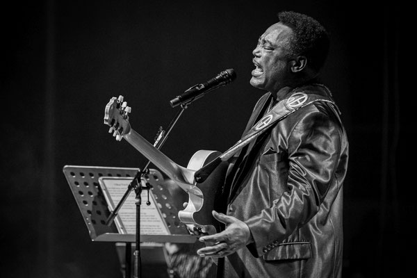 George Benson Juli 2019 in Berlin, Foto: Dirk Pagels, Teltow