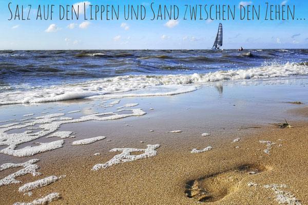 Nordsee, Cuxhaven 2020, Foto: Dirk Pagels, Teltow