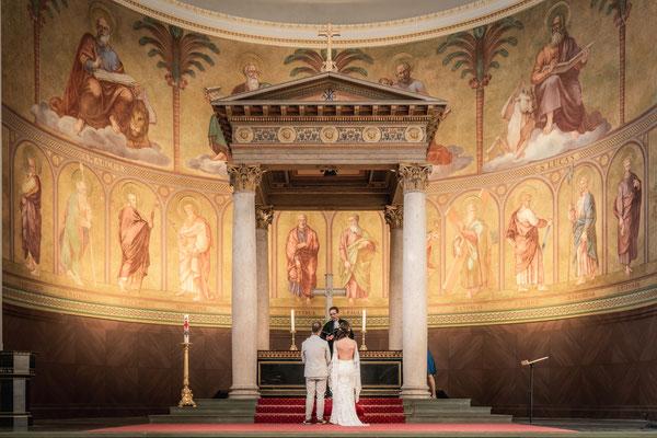Meine Dankes Hochzeit für Coronahelfer in der Potsdamer Nikolaikirche, Potsdam 2020, Foto: Dirk Pagels, Teltow
