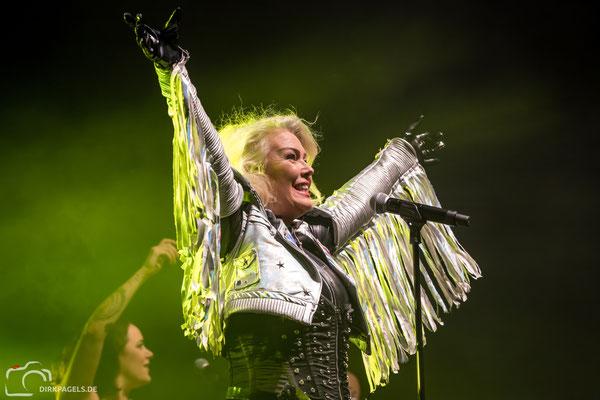 Kim Wilde am 13.10.2018 in der Berliner Columbiahalle, Foto: Dirk Pagels, Teltow
