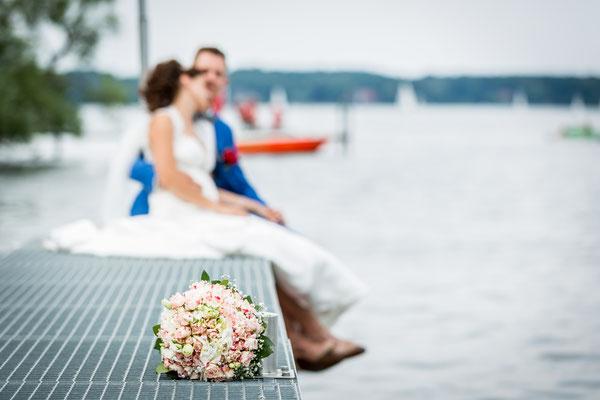 Hochzeit am Wannsee Berlin, Foto: Dirk Pagels, Teltow
